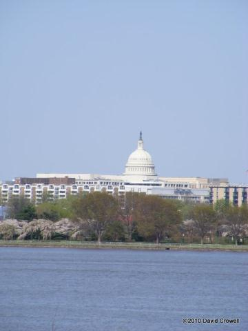 Capitol Building from a distance