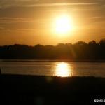 Sunrise over the Ohio River