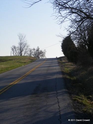 Climbing the damn hill