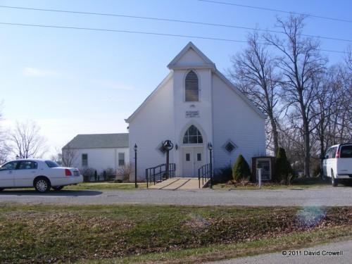 Church built in 1863