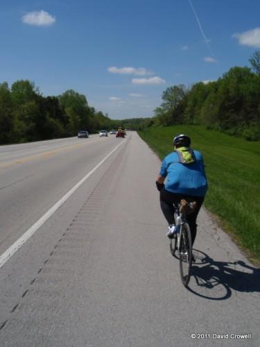 Traffic on Taylorsville Lake Rd