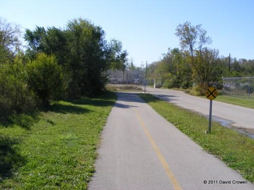 Louisville Loop path
