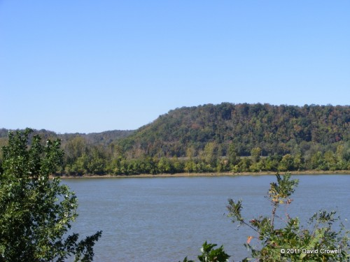 View of the Ohio River from Farnsley-Moremen Landing