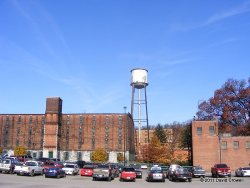 Buffalo Trace from the parking lot