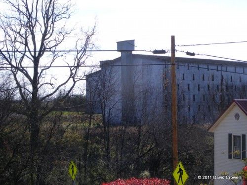 Four Roses warehouse for aging the bourbon