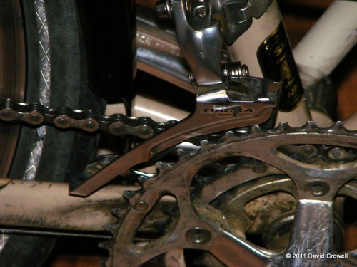 Problematic derailleur and worn chain rings