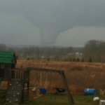 Tornado in Southern Indiana